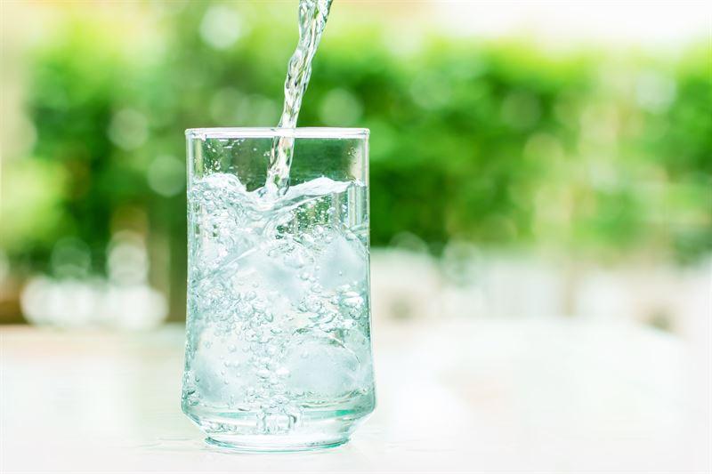 Paleta wody mineralnej